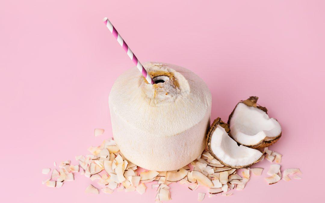 Les recettes de boissons à base de lait de coco