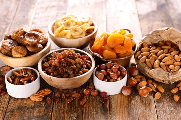 Le fruit sec, des produits bios bien intéressants